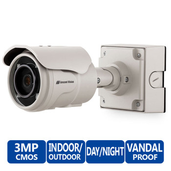 Arecont Vision AV3225PMTIR 3MP Outdoor IR Bullet IP Security Camera