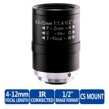 Arecont Vision MPL4-12 Vari-Focal Lens