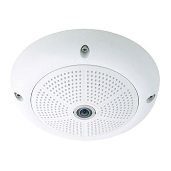 Mobotix MX-Q25M-Sec-D12 5MP Outdoor Hemispheric Dome IP Security Camera - L12 Lens, Day Sensor