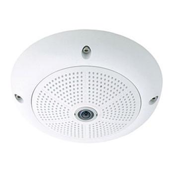 Mobotix MX-Q25M-Sec-D12 5MP Outdoor Hemispheric Dome IP Security Camera - L12 Lens, Day Sensor