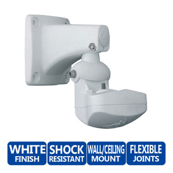 Mobotix MX-WH-SECUREFLEX SecureFlex Wall and Ceiling Mount - For M1 / M12 / M10, Shock-resistant fiberglass-reinforced composite
