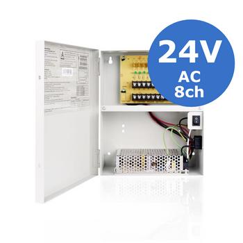 24VAC 8 Camera 4 Amp Power Supply