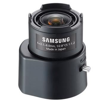 "Samsung SLA-M3180PN CCTV Megapixel Lens - CS-Mount, 3.1~8mm, 3MP, Manual P-Iris Zoom, 1/2.8"" CCD"