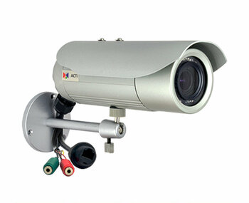 ACTi E43B 5MP IR Indoor/Outdoor Bullet IP Security Camera