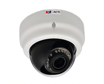 ACTi E63A 5MP IR Indoor Dome IP Security Camera - WDR, Day/Night, Full HD