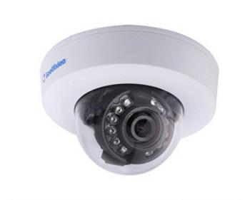 Geovision GV-EFD1100-0F 1.3MP IR Indoor Mini Dome IP Security Camera - 2.8mm fixed lens
