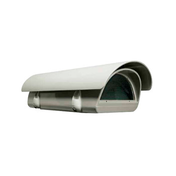 "Videotec HPV36K1A000B Verso Compact Camera Housing - 14"" w/ Sunshield and Heater, 100VAC"