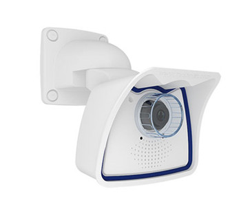 "Mobotix MX-M25M-SEC-NIGHT AllroundMono M25 5MP Outdoor IP Security Camera - Body Only, 1/2.5"" CMOS, Night Sensor, Weatherproof"