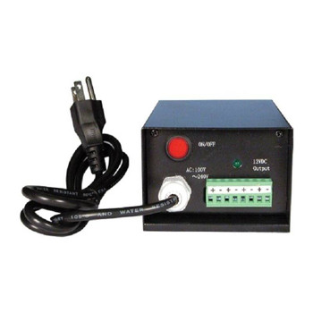 LTS PS120V5-D 4ch CCTV Power Supply - 5-Amp Power Output
