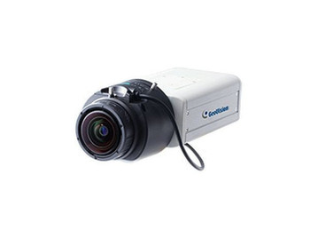 Geovision GV-BX12201 4K Ultra HD Indoor Box IP Security Camera - 4.1~9mm Varifocal Lens, 30fps at 2160P
