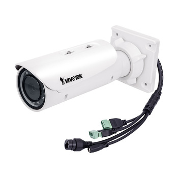 Vivotek IB9371-EHT 3MP IP Security Camera - Bullet Cam, WDR Pro & SNV, IP66 & IK10, 30fps @ 2048x1536