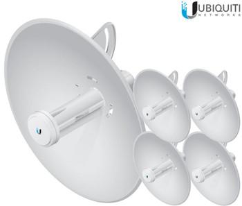 Ubiquiti PBE-5AC-300-US Powerbeam AC High Performance airMax Bridge (5-packs)