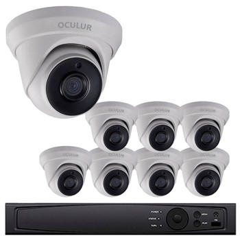 OCULUR Security 8-Camera HD CCTV Security Camera System