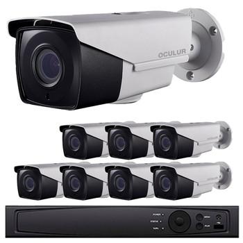 Bullet CCTV Analog Security Camera System, 8 Camera, Outdoor, Full HD 1080p, 2TB Storage, Night Vision, LTD8308-B2V