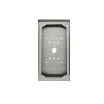 Aiphone SBX-ISDVFP Stainless Steel Surface Mount Box