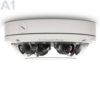 Arecont Vision AV12276DN-28 12MP Multi-sensor Outdoor Dome IP Security Camera - 4x 2.8mm Lens