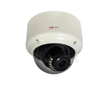 ACTi A81 IP Outdoor Dome IP Security Camera - 3MP, 2.8~12mm Lens, Extreme WDR, SD Card Slot, Weatherproof, H.265