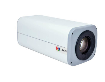 ACTi I27 IP Box Security Camera - 4MP, Day/Night, 30x Optical, Advanced WDR, SD Card Slot