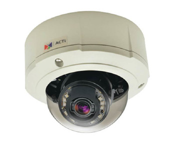 ACTi B82 5MP IR Outdoor Dome IP Security Camera - Day/Night, Basic WDR, Weatherproof