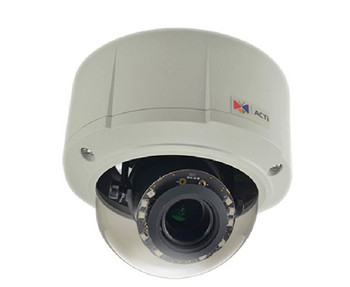 ACTi E817 Outdoor Dome IP Security Camera - 3MP, 3.1~13.3mm Lens, Day/Night, Superior WDR, Weatherproof