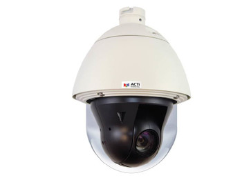 ACTi I910 Outdoor IP PTZ Security Camera - 4MP, Day/Night, Advanced WDR, SD Card Slot