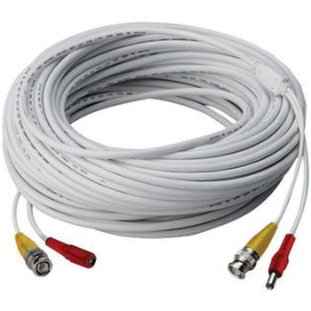LTS LTAC2125W-TVI 125ft RG59 Siamese Cable