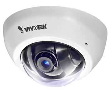 Vivotek FD8166A 2MP Indoor Mini Dome IP Security Camera - 2.8mm Fixed Lens