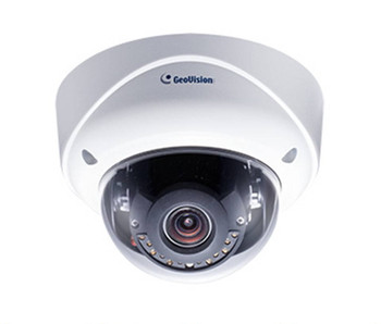 Geovision GV-VD5700 5MP IR H.265 Outdoor Dome IP Security Camera - 4~8mm Varifocal Lens