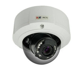 ACTi B83 2MP Outdoor Dome IP Security Camera - 3~9mm Motorized Lens, Extreme WDR (145 dB), 3x Optical Zoom, Weatherproof, Vandal Proof