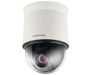 "Samsung SNP-L5233 1.3MP PTZ Dome IP Security Camera - 4.44~102.1mm (23x Optical Zoom), 1/3"" CMOS, WDR, H.264"