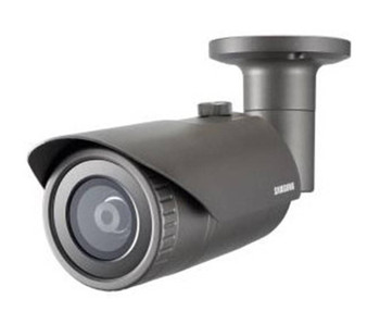 Samsung QNO-7020R 4MP IR H.265 Outdoor Bullet IP Security Camera - 3.6mm Fixed Lens