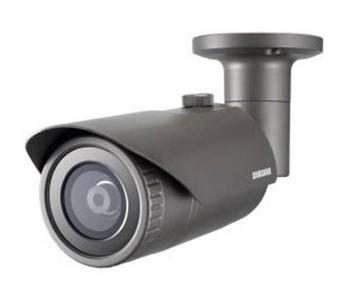 Samsung QNO-7030R 4MP IR H.265 Outdoor Bullet IP Security Camera - 6mm Fixed Lens