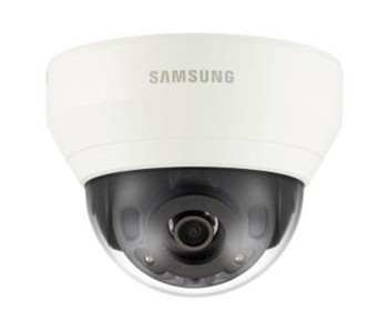 Samsung QND-6030R 2MP IR Indoor Dome IP Security Camera - 6mm Fixed Lens, H.265, 30fps at 1080P, 120dB WDR