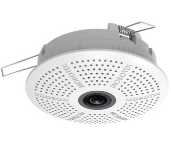 "Mobotix MX-C25-D23-PW-F1.8 5MP Indoor IP Security Camera - L23 Day Sensor, 1/2.5"" CMOS, Built-in Microphone"