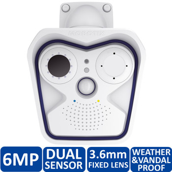Mobotix MX-M15D-Sec-DNight-D20N20-6MP