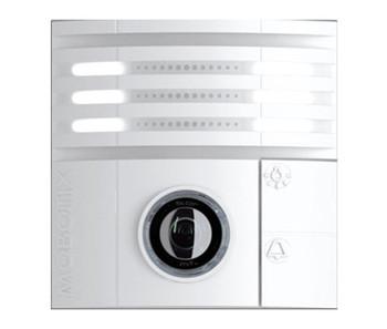 Mobotix MX-T25-D016 6MP Indoor/Outdoor IP Video Door Station - 1.6mm Fixed Lens, Day, vPTZ, Speaker and Microphone, Weatherproof, White