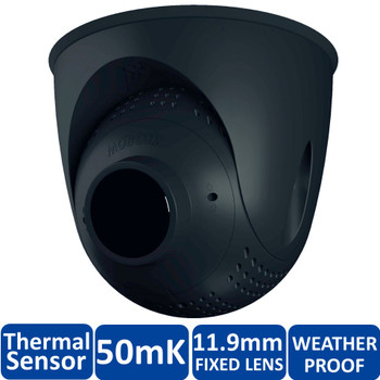 Mobotix MX-SM-PTMount-Thermal-L65-BL FlexMount S15 Thermal Sensor Module - 11.9mm Fixed Lens, 50mK, 336 x 252 pixels, Germanium Lens, Black