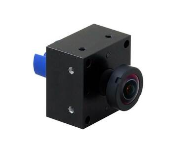 Mobotix MX-BFM-MX-D10-6MP BlockFlexMount Sensor Module 6MP - Hemispheric 1.6mm Fixed Lens, Day, Integrated microphone and status LEDs