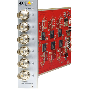 AXIS Q7436 6-Channel Video Encoder Blade 0584-001