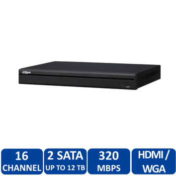 Dahua DHI-NVR52A16-16P-4KS2-4TB 16-Channel 4K NVR Network Video Recorder - 4TB HDD included