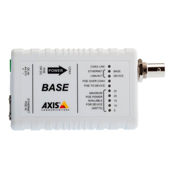 AXIS T8640 PoE+ over Coax Adapter Kit 5026-401