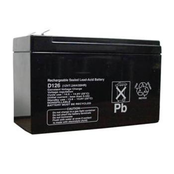 Bosch D126 Standby Battery 12V 7 AH