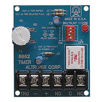 Altronix 6062 Multi-Function Timer, 12V DC or 24V DC