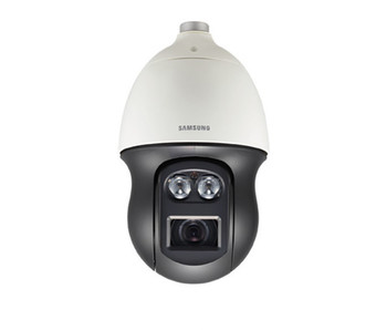 Samsung PNP-9200RH 8MP 4K H.265 IR Outdoor PTZ Dome IP Security Camera - 20x Optical Zoom