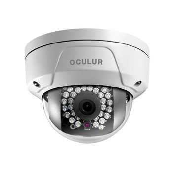 Oculur X2DFW 2MP IR Wireless Outdoor Mini Dome IP Security Camera