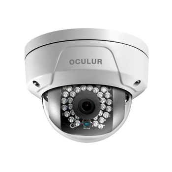 Oculur X2DF 2MP IR Outdoor Mini Dome IP Security Camera with Night Vision