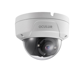 Oculur C2DF 2MP EXIR Outdoor Mini Dome HD-TVI Security Camera
