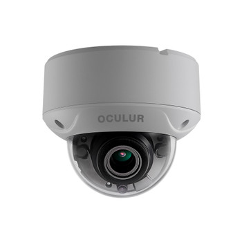 Oculur C2DV 2MP IR Outdoor Dome HD-TVI Security Camera with Motorized Lens