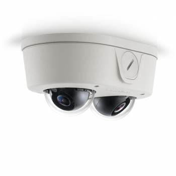 Arecont Vision AV4656DN-NL 4MP Microdome Outdoor IP Security Camera - SNAPstream, No Lens