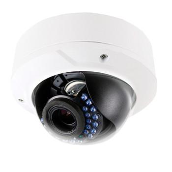 LTS CMIP7243-SZ 4.1MP IR Outdoor Dome IP Security Camera - 2.8~12mm Motorized Lens